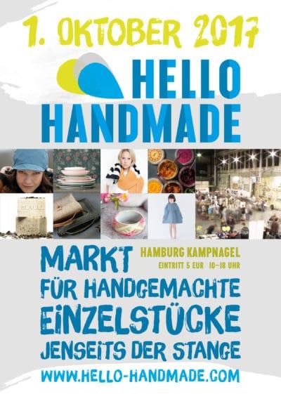 hello handmade 2017 am 1. Oktober in Hamburg