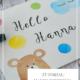 DIY-Tutorial: Babykarte