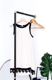 Minimalistische Garderobe