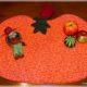 DIY : Herbstliche Tischdeko Tischset Kürbis nähen