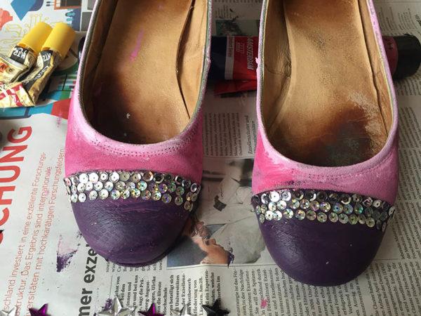 passende Schuhe für einen Abend