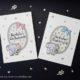 Glückwunschkarten zur Geburt für Jungen und Mädchen