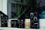 DIY: Holzhäuser die den Herbst und Winter verschönern