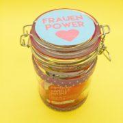 Frauenpower - DIY Geschenk im Glas selber machen