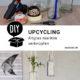 Upcycling-DIY-Idee: Altglas maritim verknüpfen