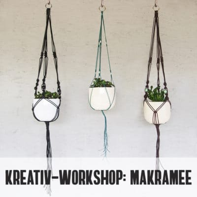 Kreativ-Workshop: Makramee