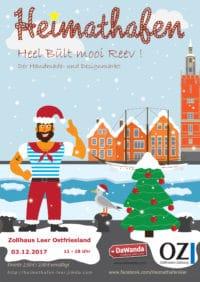 Heimathafen Heel built mooi Reev ! Der Handmade und Designmarkt in Leer
