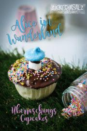 Alice im Wunderland ... Überraschungs Cupcakes