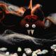Schoko-Apfel Fledermaus – perfekt für Halloween-Partys