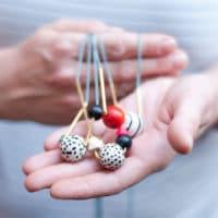 DIY Schmuck aus Perlen & Messingrohr