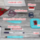 Bestecktasche Stiefel / Besteckstiefel nähen DIY