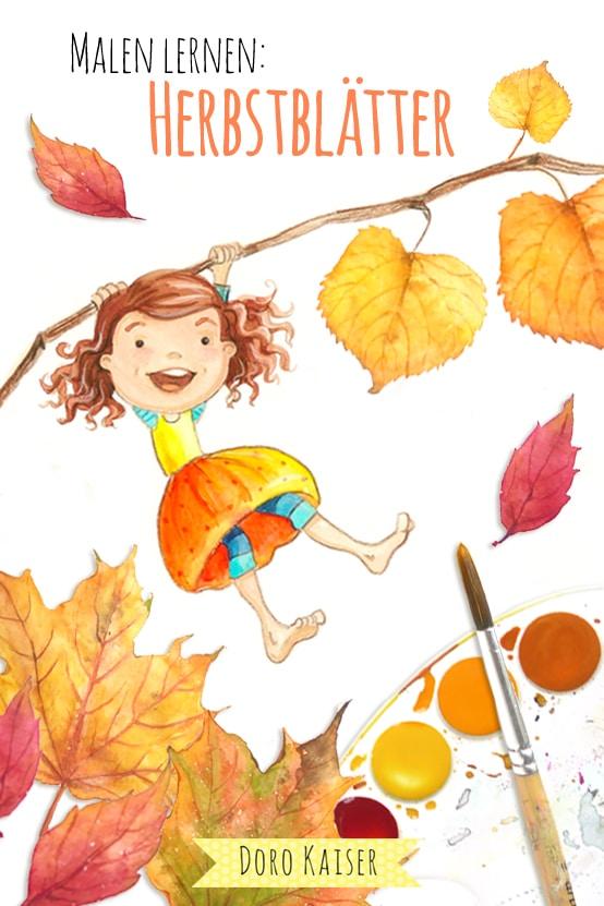 Malen lernen: Herbstblätter