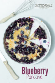 Blueberry Pancakes ... so ein Dutch Baby Ding