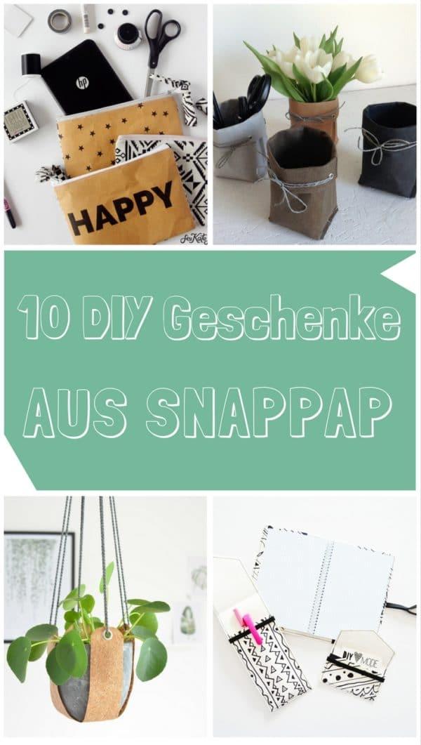 10 DIY Geschenke aus SnapPap