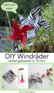 10-Minuten-DIY Windrad