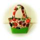 Kleine Handtasche im Materialmix für kleine Mädchen