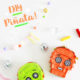 FREE PRINTABLE! DIY HALLOWEEN SUGAR SKULL PINATA