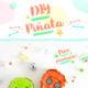 DIY HALLOWEEN PINATA / SUGAR SKULL *FREE PRINTABLE*