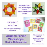 Origami Ferien-Workshop