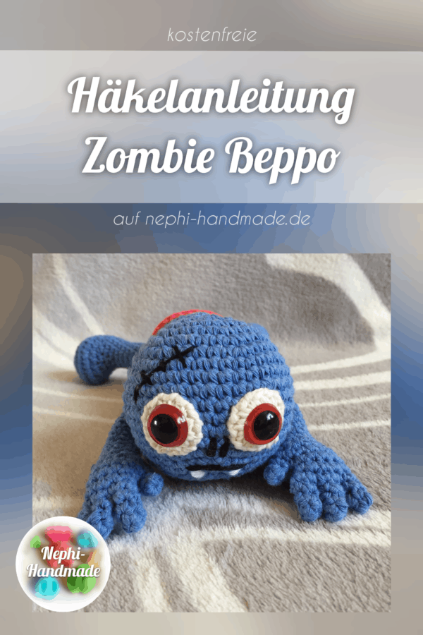 Häkelanleitung Zombie Beppo
