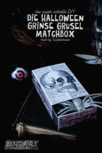 Die Halloween Grinse Grusel Matchbox ... das DIY Freebie