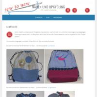Nähen und Upcycling – für Kinder und Enkel