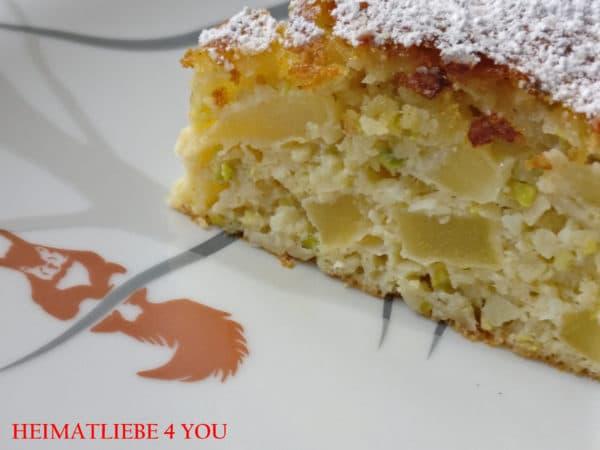 Backen Ohne Kohlenhydrate Apfel Nuss Kuchen Handmade Kultur