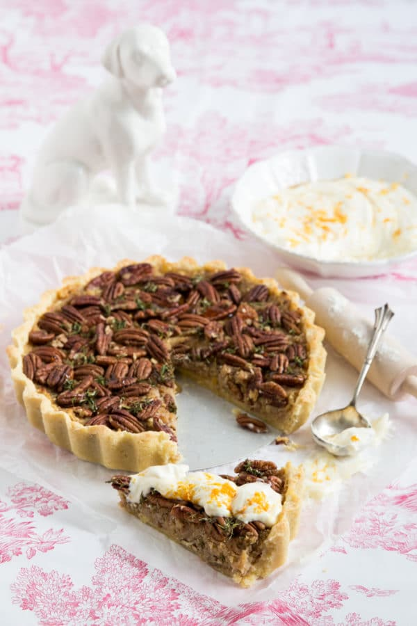 """Mister Jamie Oliver's Maple Pecan Tarte!"" [Herbsttraum]"