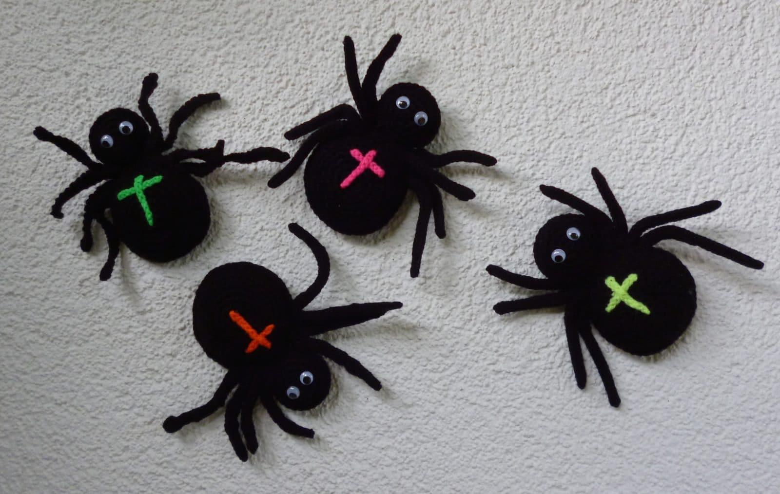 Eine Gehäkelte Spinne Für Halloween Handmade Kultur