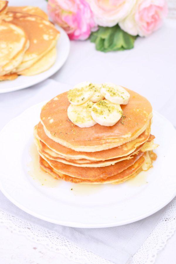 Fluffige Pfannkuchen für ein perfektes Frühstück