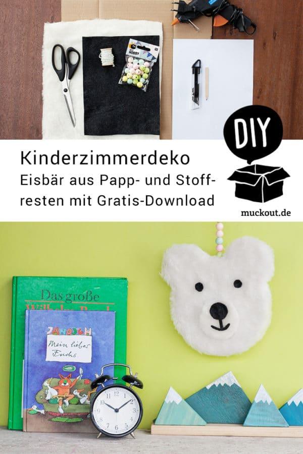 Deko fürs Kinderzimmer aus Pappe und Stoffresten selbermachen ...