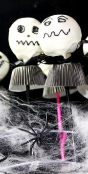 Jack Skellington Cake Pops zu Halloween