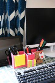 DIY Schreibtisch Organizer