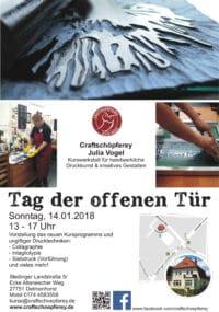 Tag der offenen Tür für Druckgrafik in Delmenhorst/Bremen