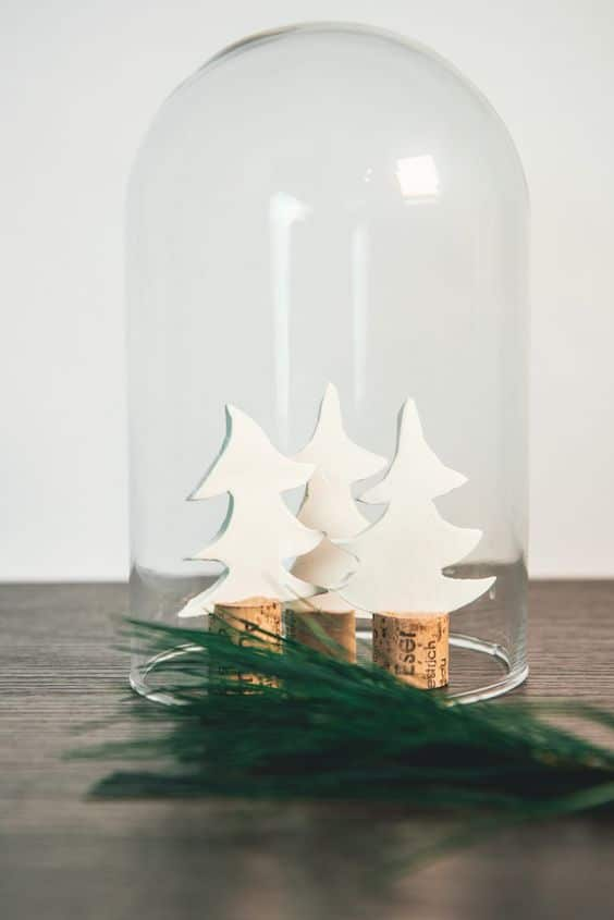 Mini Tannenbaum basteln