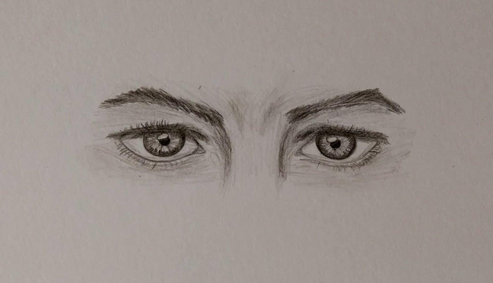 Ausdrucksstarke Augen zeichnen - HANDMADE Kultur