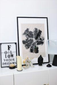 aus Natur wird Kunst: Blätterdruck