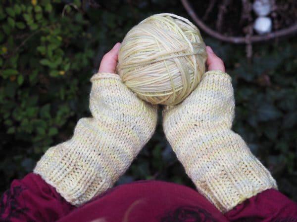 Fingerlose Handschuhe für Kinder und Erwachsene