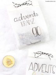 DIY Adventskranz to Go