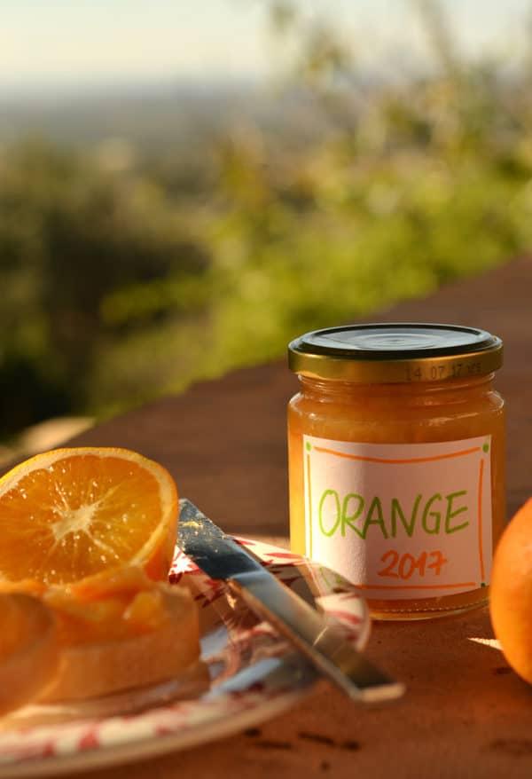 Rezept: Orangenmarmelade ohne Gelierzucker