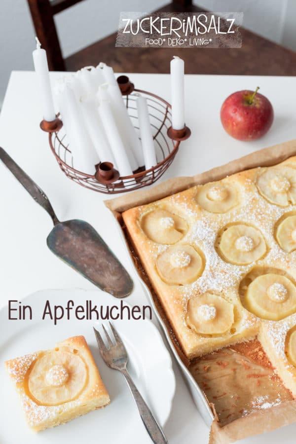 Ein Apfelkuchen