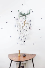 DIY Adventskalender mit Mistelzweigen
