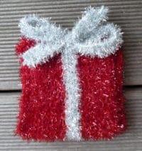 Weihnachtliche Schwämme aus Creative Bubble Garn