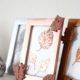 [Herbst-DIY] Bilderrahmen in Metallicfarben & mit herbstlichen Motiven