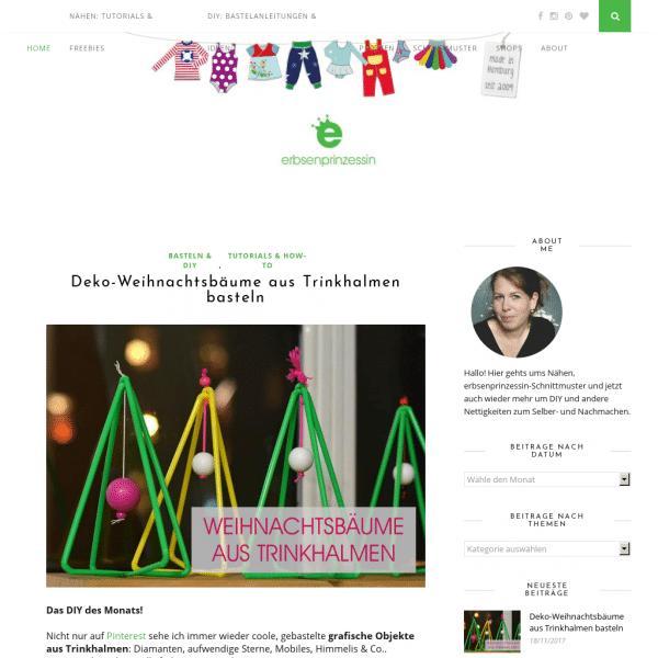Erbsenprinzessin Blog - Nähen und Schnittmuster für Kinder • DIY-Tutorials, Anleitungen und Freebooks