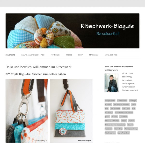 kitschwerk-blog.de - Be colourful!