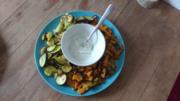 Rezept: Süßkartoffel Ofengemüse für 8 Punkte