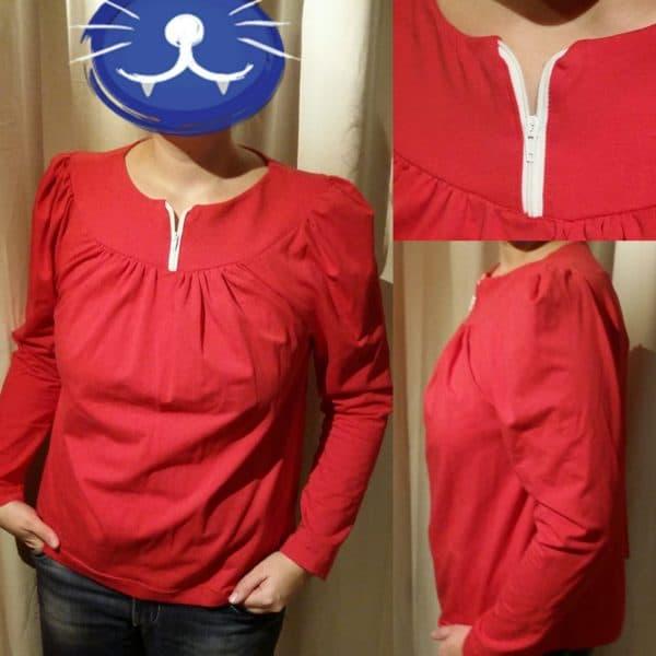 Ein Pulli-Shirt