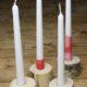 Kerzenhalter DIY aus Holz