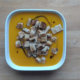 Rezept: Kürbiscremesuppe mit Croutons für 11 Punkte
